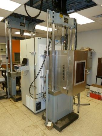 MTS Load Frames and Environmental Chamber